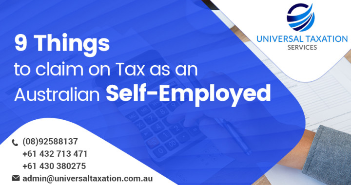 9 Things to Claim on Tax as an Australian Self-Employed
